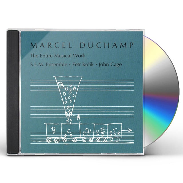 Marcel Duchamp ENTIRE MUSICAL WORK CD