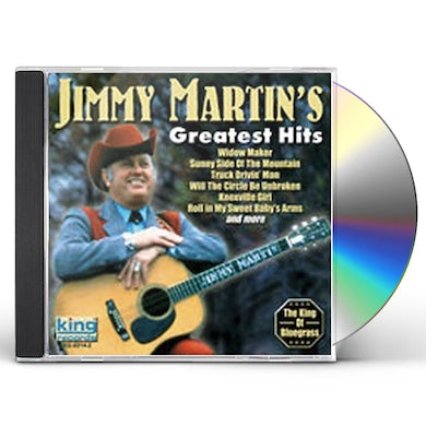 Jimmy Martin GREATEST HITS CD