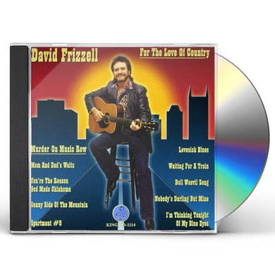 David Frizzell FOR THE LOVE OF COUNTRY CD