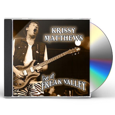 Krissy Matthews LIVE AT FREAK VALLEY CD
