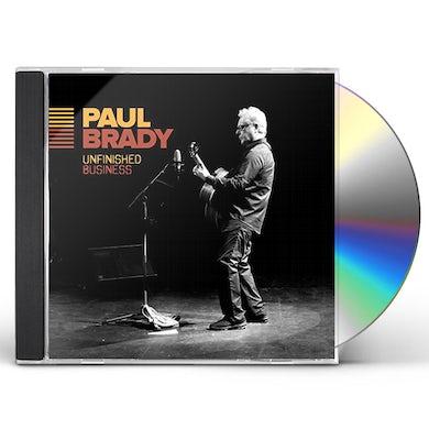 Paul Brady UNFINISHED BUSINESS CD