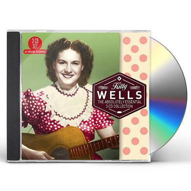 Kitty Wells ABSOLUTELY ESSENTIAL 3 CD COLLECTION CD