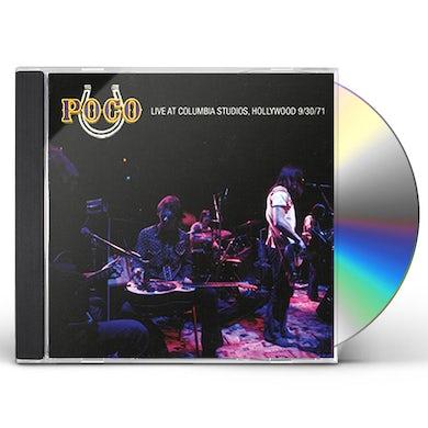 Poco LIVE AT COLUMBIA STUDIOS CD