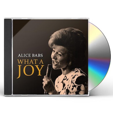 Alice Babs WHAT A JOY CD
