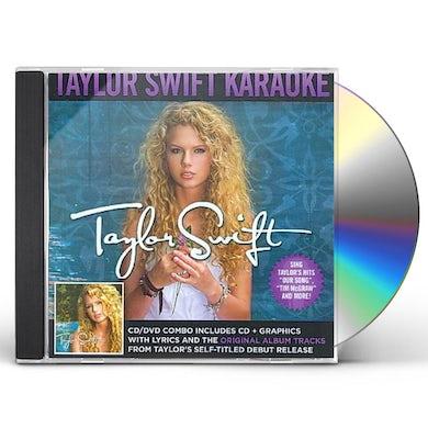 Taylor Swift - Karaoke (CD+G/DVD Combo) CD