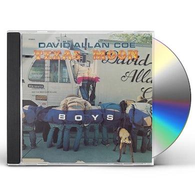 David Allan Coe TEXAS MOON CD