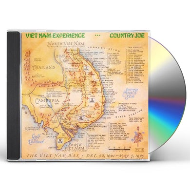 Country Joe McDonald VIETNAM EXPERIENCE CD