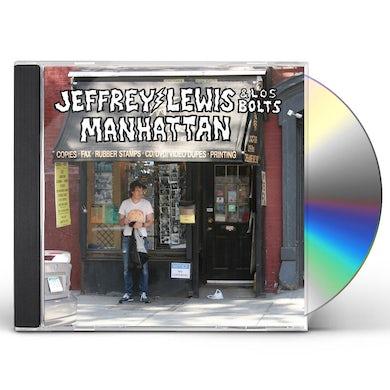 Jeffrey Lewis & Los Bolts MANHATTAN CD
