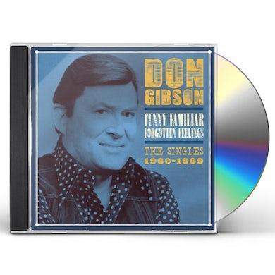 Don Gibson FUNNY FAMILIAR FORGOTTEN FEELINGS: SINGLES 1960 CD