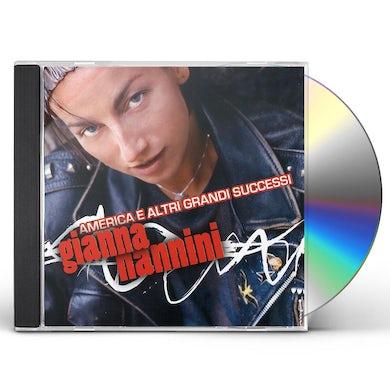 Gianna Nannini AMERICA E I SUOI GRANDI SUCCESSI CD