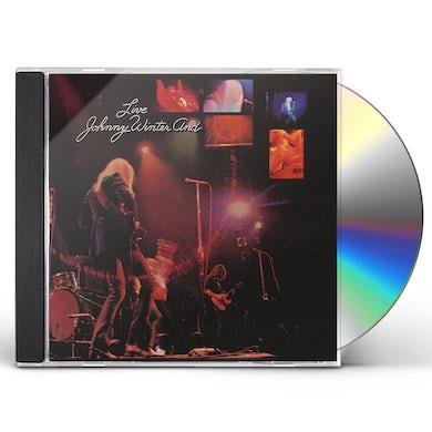 Johnny Winter LIVE CD