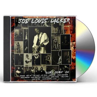 Joe Louis Walker BLUES COMIN' ON CD