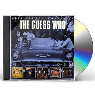 The Guess Who ORIGINAL ALBUM CLASSICS CD