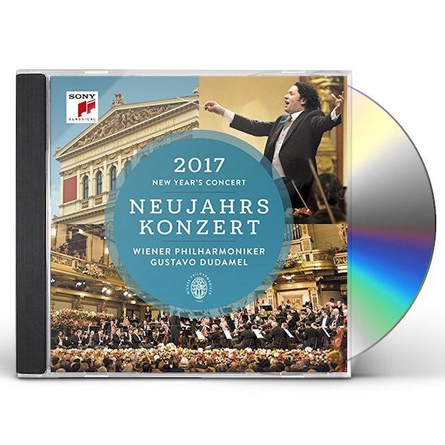 Gustavo Dudamel / Wiener Philharmoniker NEUJAHRSKONZERT 2017 / NEW YEAR'S CONCERT 2017 CD