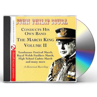 John Philip Sousa MARCH KING: HISTORICAL RECORDING 2 CD