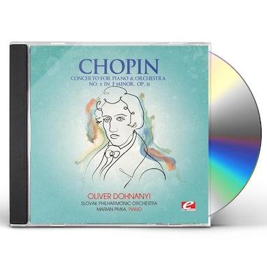 Chopin CONCERTO PIANO & ORCHESTRA 2 CD