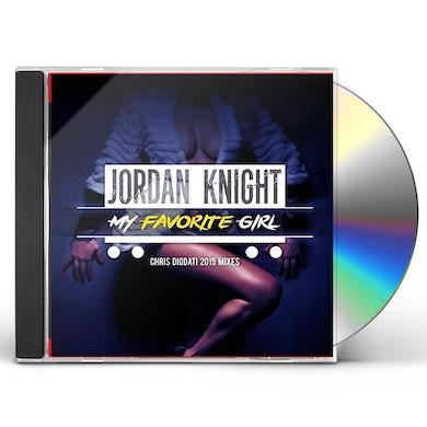 Jordan Knight MY FAVORITE GIRL (CHRIS DIODATI 2015 MIXES) CD