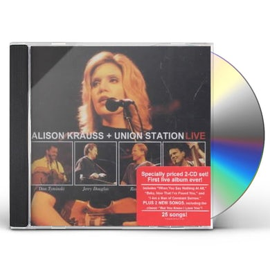 Alison Krauss and the Union Station  LIVE CD