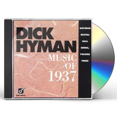 Dick Hyman LIVE AT MAYBECK 3 CD