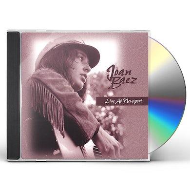 Joan Baez LIVE AT NEWPORT CD