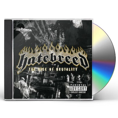 Hatebreed RISE OF BRUTALITY (UK EDT) CD