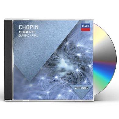 F. Chopin WALTZES CD