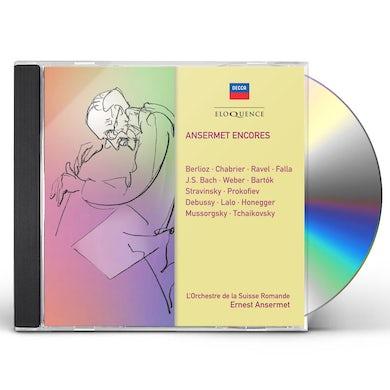 Ernest Ansermet ANSERMET ENCORES CD