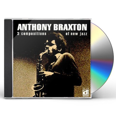 Anthony Braxton 3 COMPOSITIONS OF NEW JAZZ CD