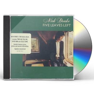 Nick Drake FIVE LEAVES LEFT CD