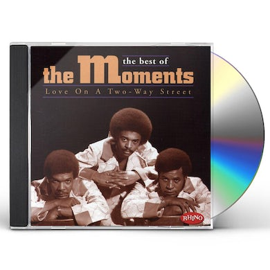 Moments LOVE ON A TWO WAY STREET: BEST OF CD