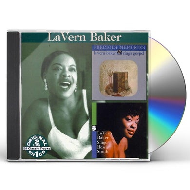 Lavern Baker PRECIOUS MEMORIES / LAVERN SINGS BESSIE SMITH CD