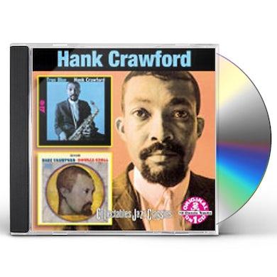 Hank Crawford TRUE BLUE / DOUBLE CROSS CD