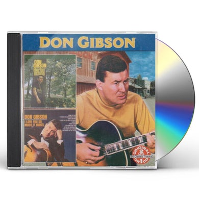 Don Gibson HURTIN INSIDE: I LOVE YOU SO MUCH IT HURTS CD