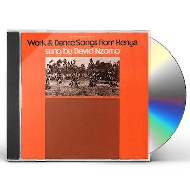 David Nzomo WORK AND DANCE SONGS FROM KENYA CD