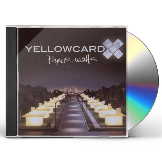 Yellowcard PAPER WALLS CD
