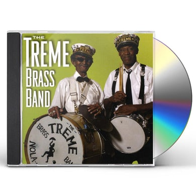 Treme Brass Band NEW ORLEANS MUSIC CD