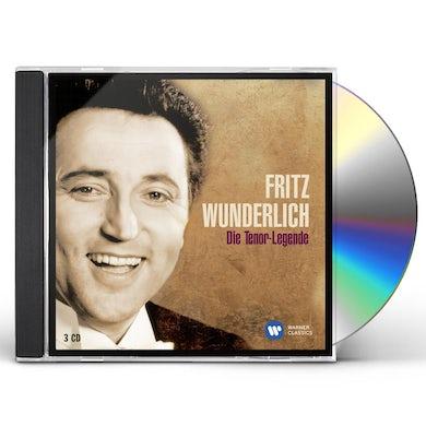 Fritz Wunderlich DIE TENOR-LEGENDE CD