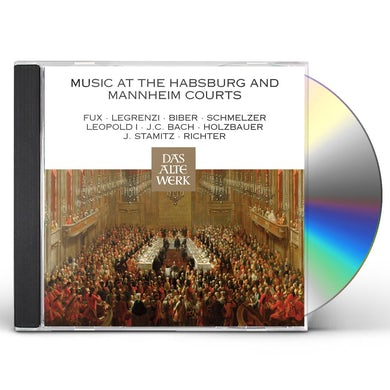 Nikolaus Harnoncourt MUSIC AT THE HABSBURG & MANNHEIM COURTS CD