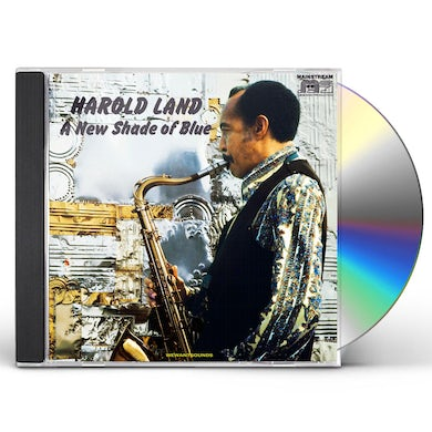 Harold Land NEW SHADE OF BLUE CD