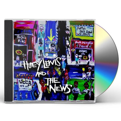 Huey Lewis & The News SOULSVILLE CD