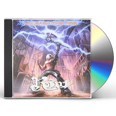 Riot UNLEASH THE FIRE CD
