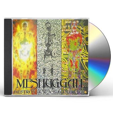 MESHUGGAH DESTROY ERASE IMPROVE CD