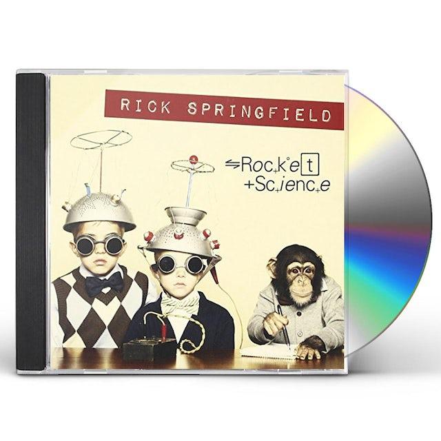 Rick Springfield ROCKET SCIENCE CD