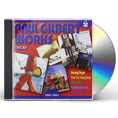 Paul Gilbert WORKS 2 CD
