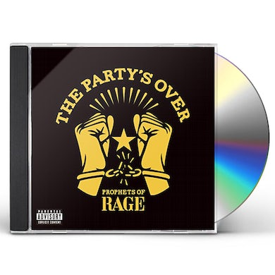 Prophets Of Rage PARTY'S OVER CD