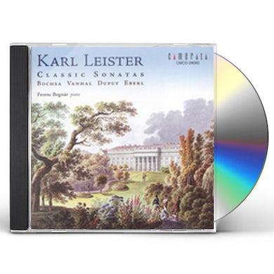 Karl Leister PLAYS CLASSIC SONATAS CD