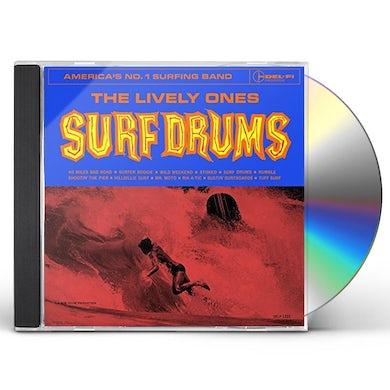LIVELY ONES SURF DRUMS CD