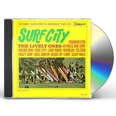 LIVELY ONES SURF CITY CD