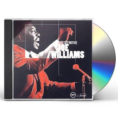 Joe Williams DEFINITIVE CD