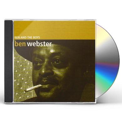 Ben Webster BEN & THE BOYS CD